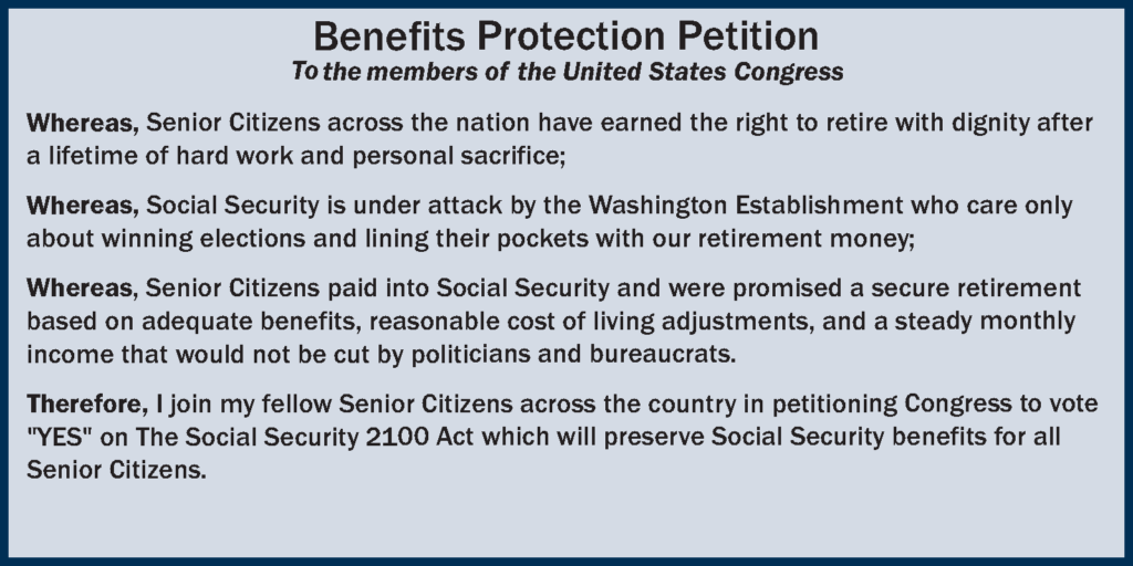 Benefit Protection Petition